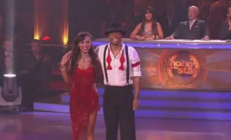 J.R. Martinez on Dancing With the Stars (Week 8 - Jive)