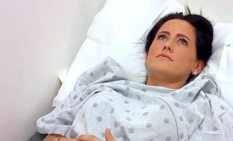 Jenelle in the Hospital