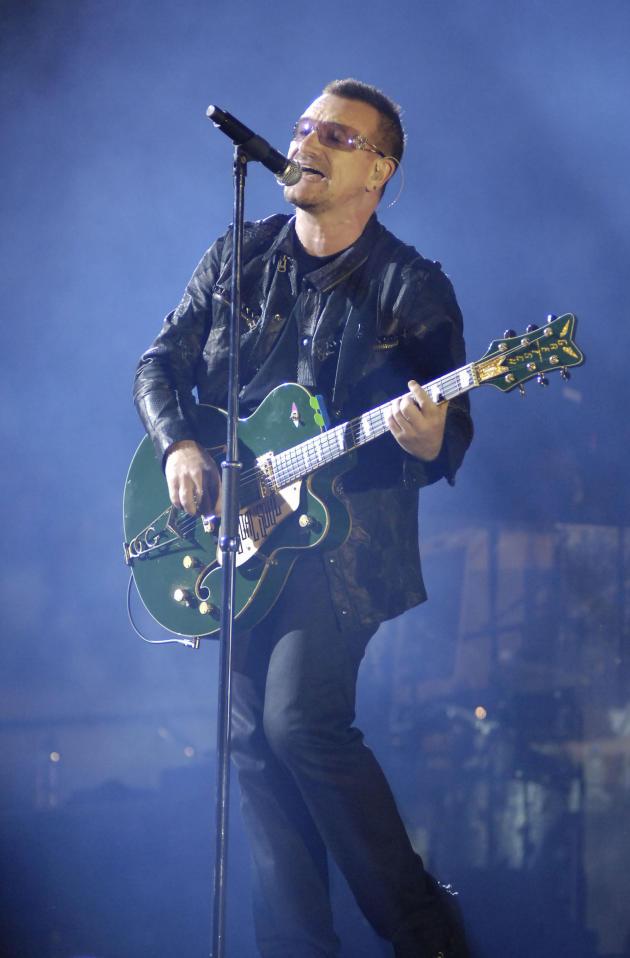 Bono Photograph