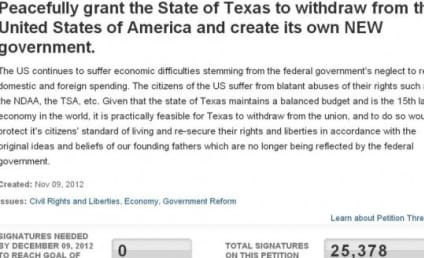 Secession Petitions: We the People of 20 States Want Out After Obama Victory