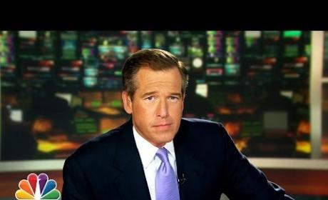 Brian Williams Kind of Raps Rapper's Delight: Watch Now!