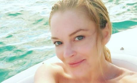 Lindsay Lohan: Baby on the Way?!