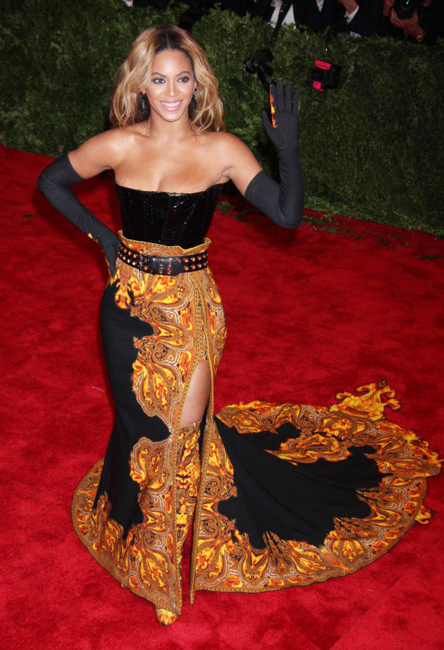 Beyonce MET Gala Fashion