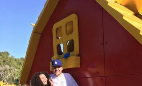 Rob and Blac at Legoland