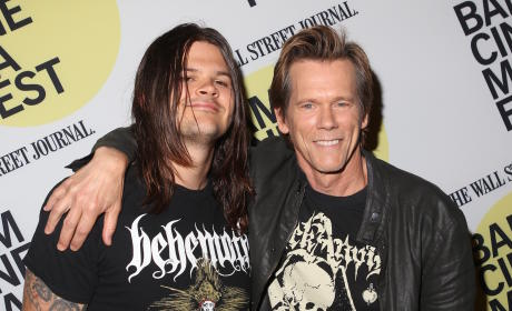 Father's Day Fail: Kevin Bacon Locked Newborn Son in Car