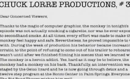 Charlie Sheen to Chuck Lorre: I'm No Heroin Addict!