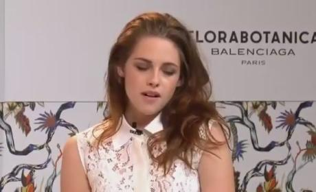 Kristen Stewart Web Chat: I've Been Preoccupied...