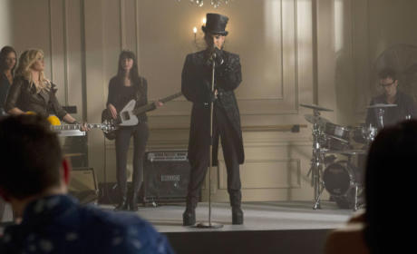 Adam Lambert on Glee