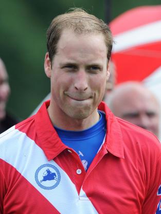Prince William Hair Line