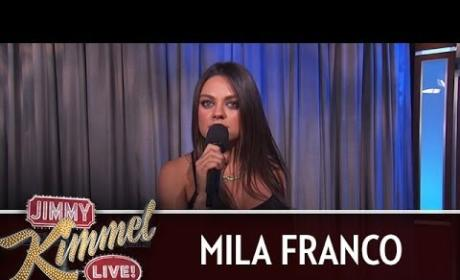 Mila Kunis Puts Expecting Fathers on Blast: YOU Are Not Pregnant!
