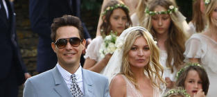 Kate Moss and Jamie Hince: Married!