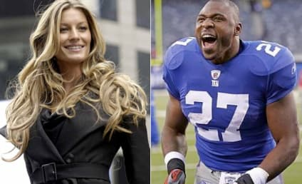 Brandon Jacobs to Gisele Bundchen: Shut Up and Look Cute!