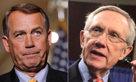 "Fiscal Cliff Deal Not Happening Due to GOP ""Dictatorship,"" Harry Reid Says"