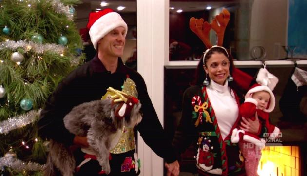Jason Hoppy and Bethenny Frankel on Xmas