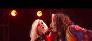 "Jax and Steven Tyler - ""Piece of My Heart/Walk This Way/Love is Your Name"""