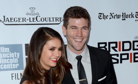 Nina Dobrev and Austin Stowell in Public