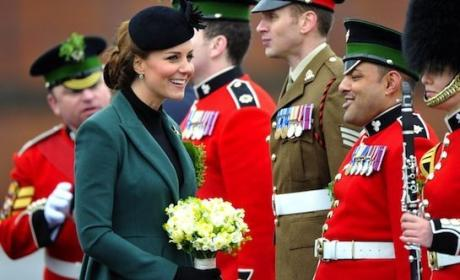Kate Middleton on St. Patrick's Day