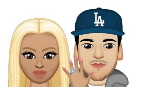 Blac Chyna Shows off Ring, Kardashians Stay Silent on Engagement