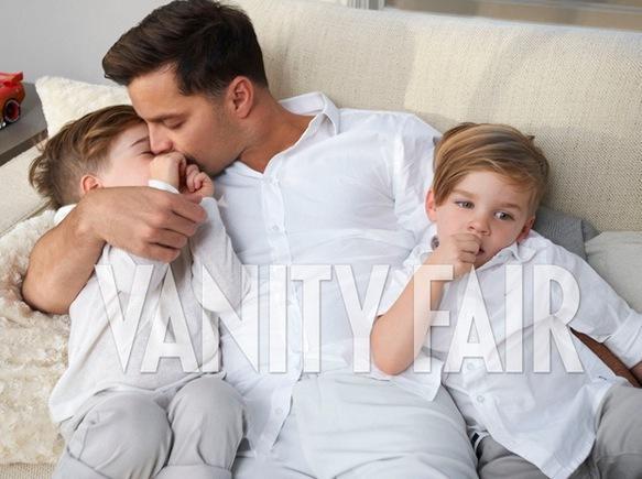 Ricky Martin, Sons