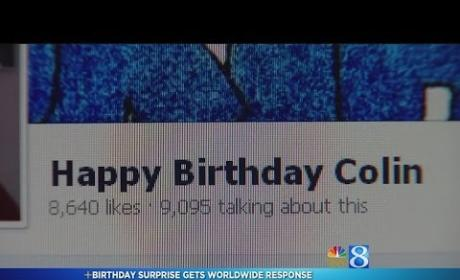 Mom Creates Facebook Campaign to Surprise Son With Birthday Messages