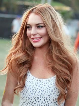 Lindsay Lohan, Red Hair