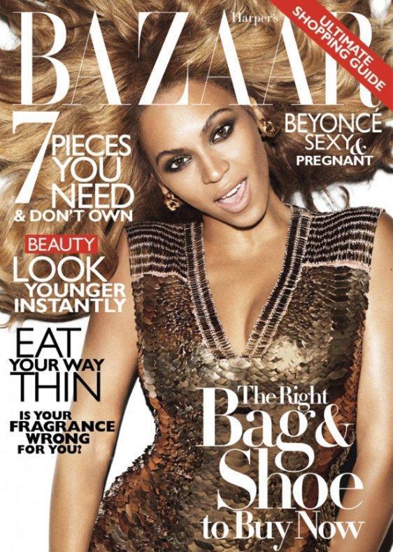 Beyonce Harper's Bazaar Cover