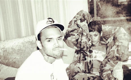 Chris Brown Returns to Twitter, Posts HOT Rihanna Photo!