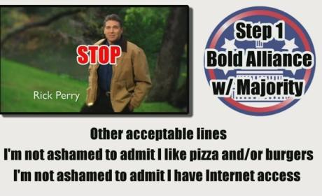 Rick Perry Ad Parody