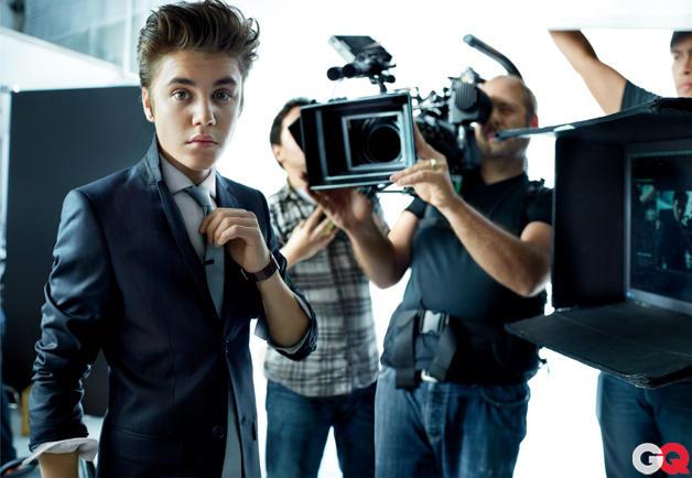 Justin Bieber GQ Photo