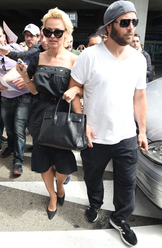 Rick Salomon with Pamela Anderson
