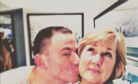 Channing Tatum and His Mom