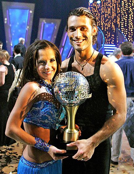 Kelly Monaco and Alec Mazo