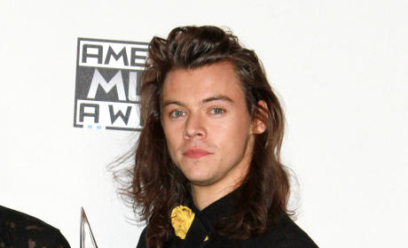 Harry Styles at the AMAs