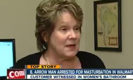 Woman to Masturbating Man in Walmart: I Caught You!