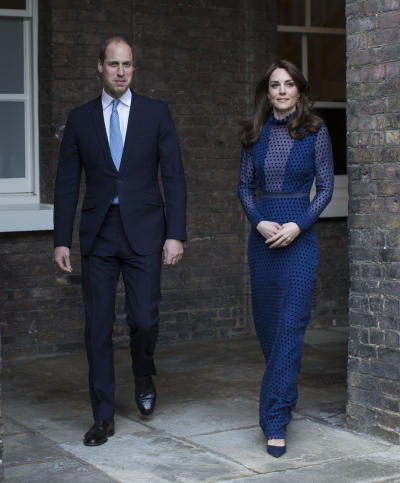Kate Middleton with Her Husband