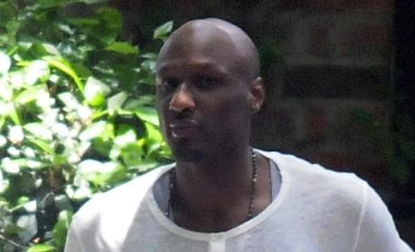 "Lamar Odom: Shady ""Fixer"" Shows Up, Takes Unconscious Star's Stuff, Peaces Out!"
