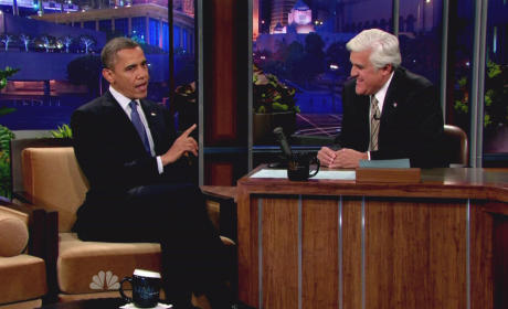 Jay Leno Slams Barack Obama for Libya Mess, Lena Dunham Ad