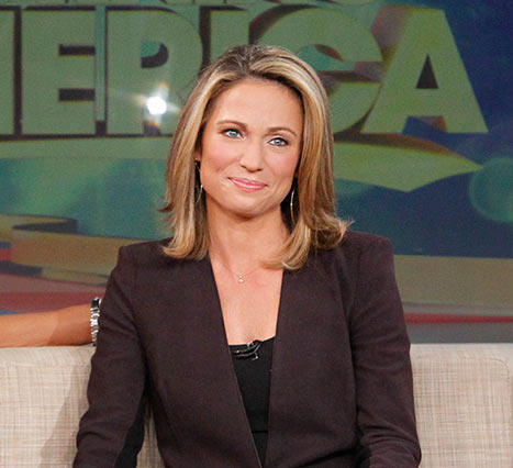 Amy Robach on GMA