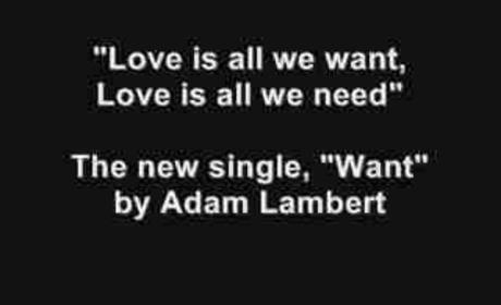 Listen to Adam Lambert's Single... Right Now!