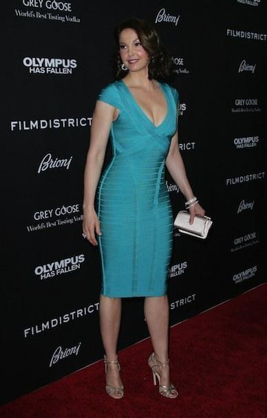 Ashley Judd Blue Dress