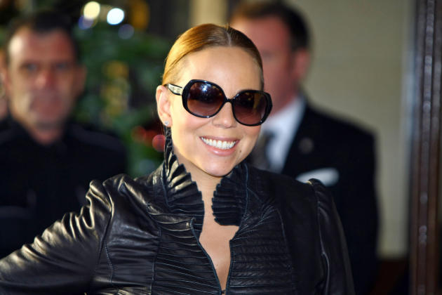 Mariah Carey in London