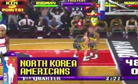 Kim Jong-Un, Dennis Rodman DOMINATE Pathetic Americans in NBA Jam!