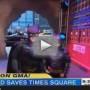 Batkid Appears on Good Morning America, Saves Pitbull