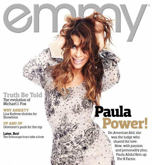 Paula Abdul Emmy Magazine Cover