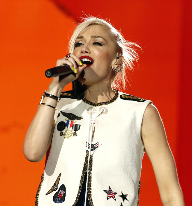 Gwen stefani in concert