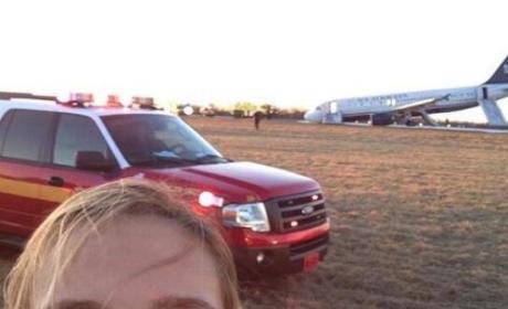 Plane Crash Selfies: Funny or Foul?