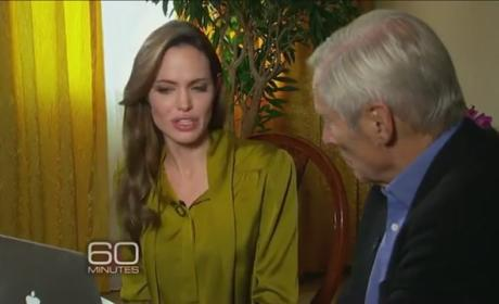 Angelina Jolie on 60 Minutes: Still a Bad Girl!