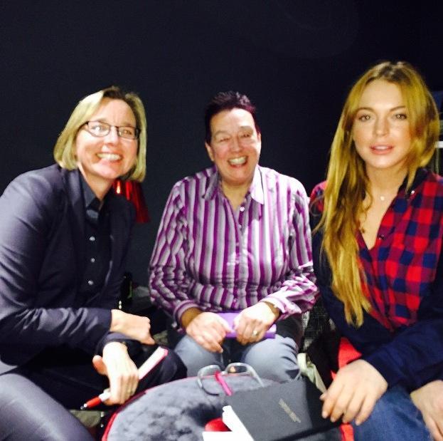 Lindsay lohan photoshopped charity photo