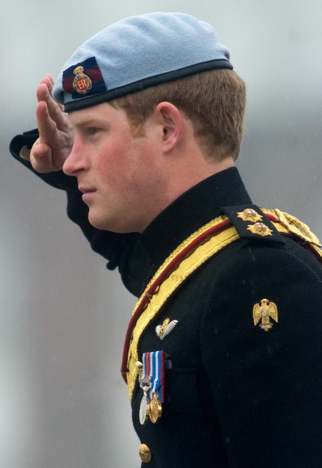 Captain Prince Harry