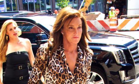 Caitlyn Jenner in Leopard Print